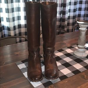 Frye Melissa Stud Riding Boots